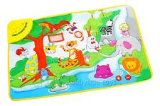 New Musical Forest Animals Baby Activity Play Mats Gym Touch Kick Play Piano Toy