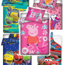 2 pcs Bedding,Set for Baby 100%COTTON-Hello Kitty,Peppa Pig,Planes,Chuggington