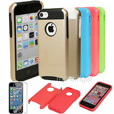 Heavy Duty Combo Hybrid Rugged Proof Hard Soft Case Cover For Apple iPhone 5C C