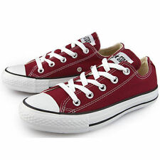 Converse Chuck Taylor AS CORE OX Maroon Burgundy 9691 All Star Sneakers Trainers