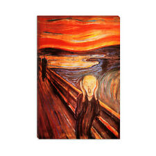 The Scream Edvard Munch Canvas Print Painting Reproduction