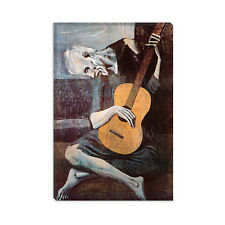 The Old Guitarist Pablo Picasso Canvas Print Painting Reproduction