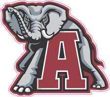 University of Alabama Crimson Tide  printed outdoor vinyl decal sticker 3 sizes