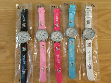 Hello Kitty Watches - Brand New - Various designs and colours available
