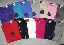 NEW POLO RALPH LAUREN SOFT INTERLOCK CUSTOM FIT SHIRT S M L XL XXL