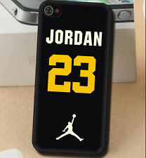 Michael Jordan No.23 Basketball fans luminous Cover Case for iPhone 4 4S 5 5S