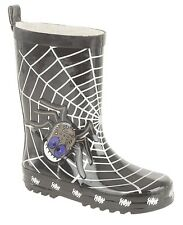 NEW KIDS,BOYS,GIRLS,WELLY, RUBBER RAINY SNOW WELLINGTON BOOTS INSY WINSY SPIDER