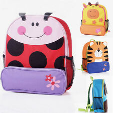 New Cartoon Kids Boy's Girls Backpack Animal Book School Bag Shoulder Bags Gift