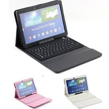 SUPERNIGHT™ Wireless Keyboard PU Leather Case Cover for Samsung Galaxy Note 10.1