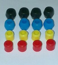 450 class helicopter landing skid nuts pack of 4 in 2 colours(trex,kds,blade)