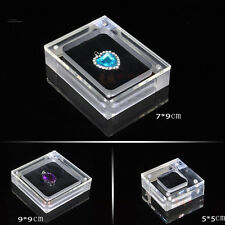 LOOSE DIAMOND JEWELRY DISPLAY CASE HOLDER GEM SHOW STORAGE CONTAINER BOX