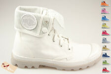 PALLADIUM US BAGGY LITE BLANC Chaussures à Teindre Femmes WHITE shoes tailles