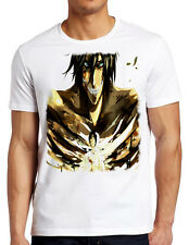 Evil Shingeki no Kyojin White T-Shirt Goku Manga Anime Cartoon TV Movie Tee