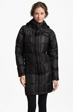 The North Face Womens Metropolis Quilted Down Parka 600 Black