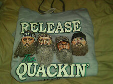 "Duck Dynasty Pullover Hooded Sweatshirt ""Release the Quackin'"""