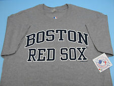 BOSTON RED SOX SS T-SHIRT GREY OFFICIALLY LICENSED QUALITY *BRAND NEW* MLB