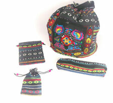 New Ethnic Boho Hippy Tribal Handstitched Bags Purses Phoneholders - 4 Sizes