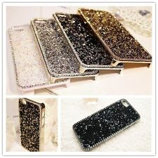 New Luxury Crystal Diamond Bling metal Back Cover Case for Apple iPhone4 4s 5 5s