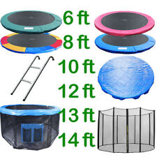 8 10 12 13 14 FT TRAMPOLINE REPLACEMENT PAD PADDING SAFETY NET RAIN COVER LADDER