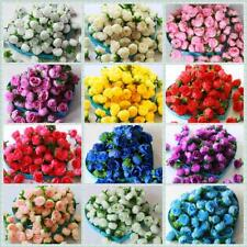 Wholesale Lot Party Wedding Rose Heads Home Decor Artificial Silk Flower