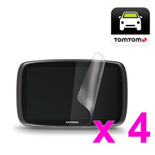 4x LCD Screen Protector Guard for TomTom In Car Sat Nav Satellite Navigation GPS
