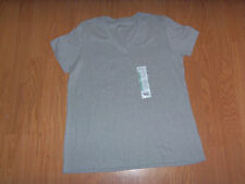 New With Tags Eddie Bauer  Women's Short Sleeve Shirt- V-neck