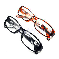 1.0 1.5 2.0 2.5 3.0 Diopter Comfy Reading Glasses Presbyopia Black Brown New