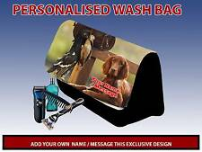 PERSONALISED GUN DOG 1 PENCIL CASE GAMES CARRIER DS TRAVEL BAG MENS DAD GIFT
