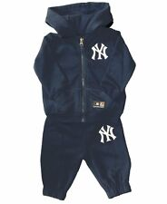Majestic MLB New York Yankees Baby/Kids Tracksuit - Navy, 3 months - 5 years