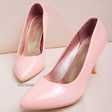 Womens Kitten Heels Miss Occasion Shoes Candy Pumps Classics US Size YD291