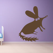 Cartoon Rat Wall Sticker Cartoon Animal Wall Decal Art