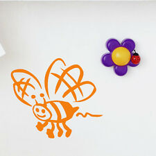 Cartoon Bee Wall Sticker Animal Wall Decal Art