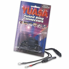 Yuasa Fused Ring Connectors Motorcycle Battery Chargers