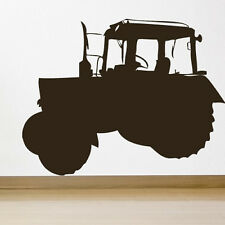 Farm Tractor Wall Stickers Vehicle Wall Decal Art