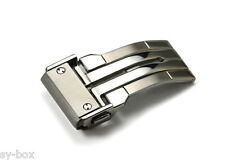 24mm Boucle en état brossé / Polished Deployment Buckle Clasp for Hublot Mens