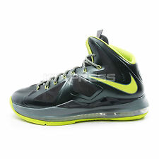 Nike Lebron X XDR [543645-300] Basketball James Seaweed/Atomic Green-Hasta
