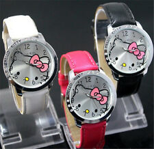 New lovely hello KT Girls Ladies Wrist Quartz  Watch Nice Kid's gift