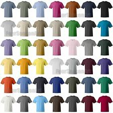 Hanes Mens Beefy T-Shirt 100% Cotton Tag free Tee sizes S - 5XL 40 Colors 5180