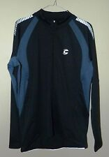 Cannondale Midweight Mens Cycling Jersey Long Sleeve. Black/Grey. 7M108L/BLK