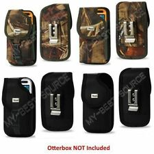 Holster Belt-Clip Pouch/Cover Samsung Galaxy S4 FOR Otterbox Preserver Case On