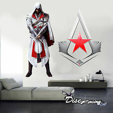 Vinilo Decorativo Pegatina vinilo Impreso Assassins Videjuego Wall sticker