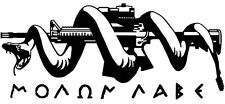Molon Labe Vinyl Sticker DONT TREAD ON ME AR15 SPIKES TACTICAL 3 PERCENTER NRA