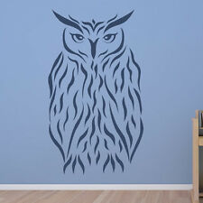 Barn Owl Wall Sticker Animal Wall Decal Art