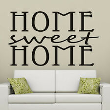 home Sweet Home Wall Stickers Home Wall Decal Art