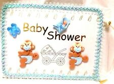 Monkey Baby Shower Boy Guest Book Mom to Be keepsake Decoration Gift