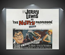 Jerry Lewis The Nutty Professor Vintage Movie Poster - A1, A2, A3, A4 sizes