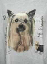 YORKSHIRE TERRIER HISTORY Lt. Blue Tee Shirt New Without Tags SMALL To 4XL NWOTS