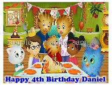 Daniel Tiger's Neighborhood Edible Image Frosting Sheet Cake Topper  Picture