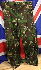 Genuine British Army DPM Camouflage MVP Goretex Wet Weather Trousers Grade 1