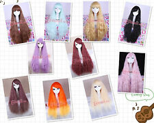 New Women Rhapsody curly wave instant noodle cosplay Corn hot wig +Gift